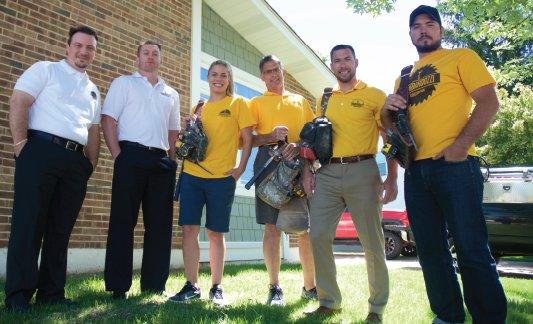 Lombardozzi Construction Team Picture